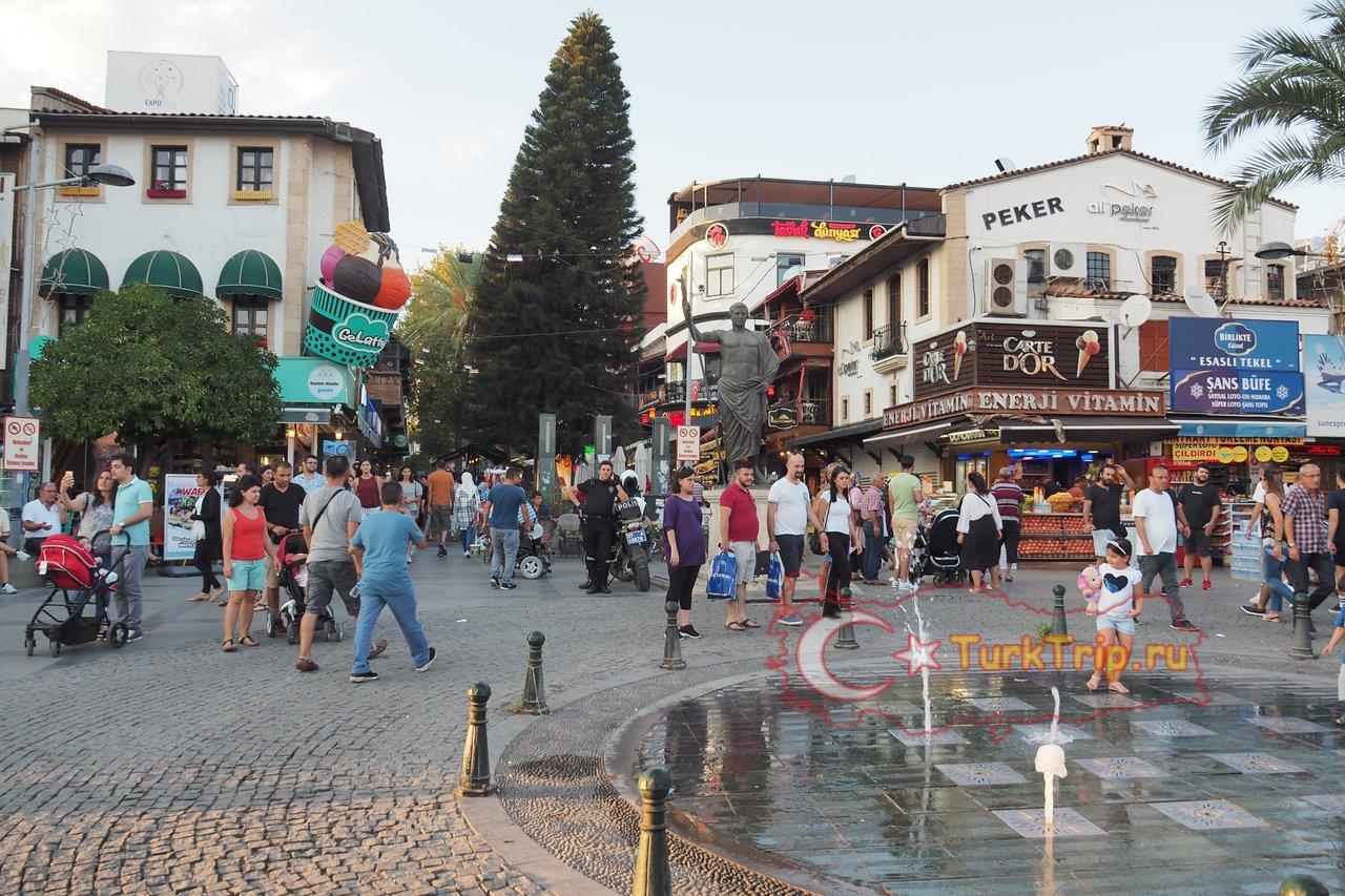 Анталья город в турции достопримечательности