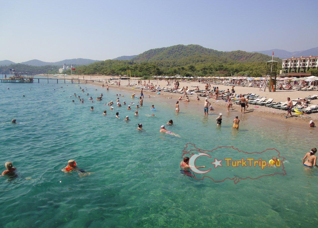 Фото с пляжа кемер