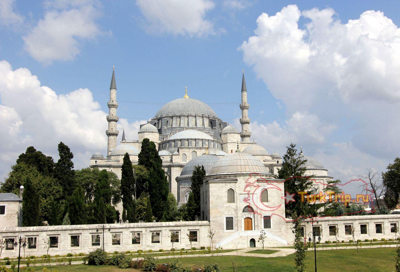 мечеть султана сулеймана в стамбуле фото другой