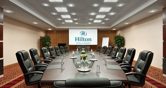 Переговорная в отеле Ankara HiltonSA