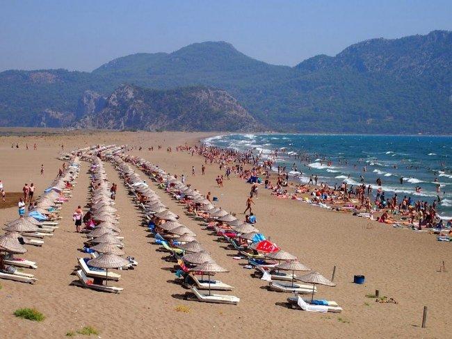 Пляж Изтузу в Дальяне