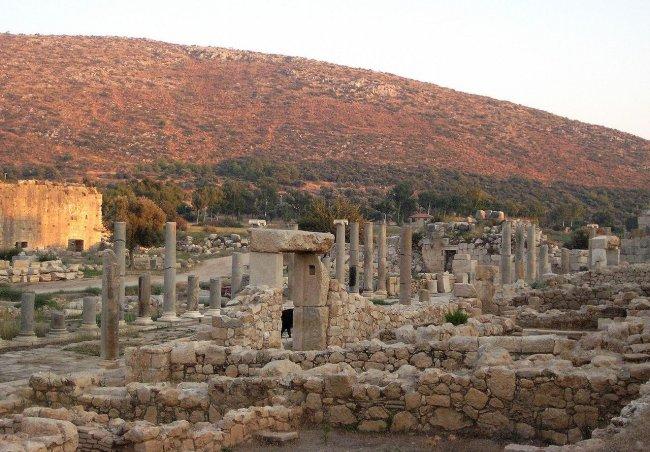 Руины Патары