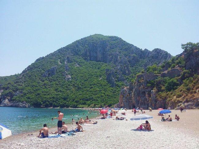 Пляж в Чирали