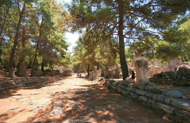 Руины Фазелиса