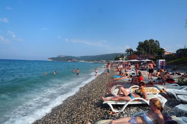 Пляжи Кемера в июне