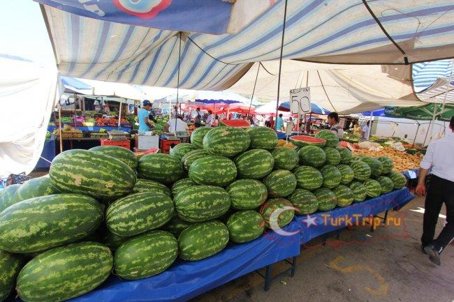 Рынок в Кемере