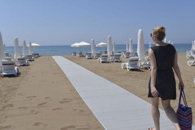 Пляж рядом с отелем Barut Sorgun Sensari