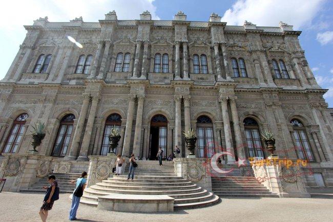 Дворец Долмабахче фото выхода