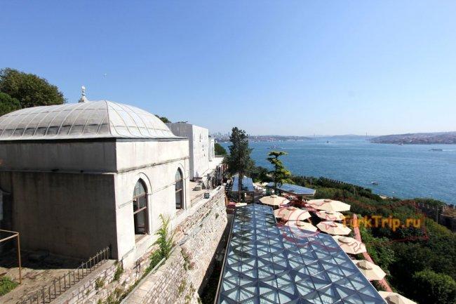 Дворец Топкапы - вид на Босфор