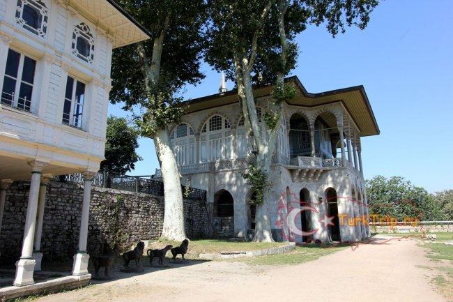 Двор во Дворце Топкапы