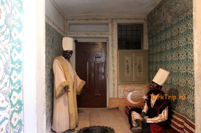Гарем Топкапи в Стамбуле - фото внутри