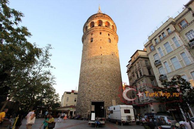 Галатская башня в Стамбуле фото