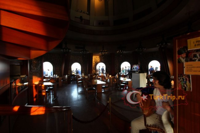 Ресторан в Галатской Башне