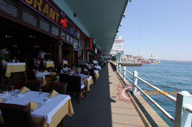 Рестораны на Галатском мосту