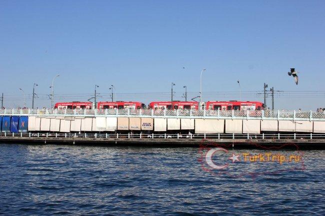 Трамвайная линия на мосту
