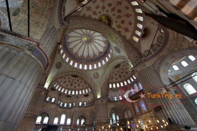 Голубая мечеть фото купола