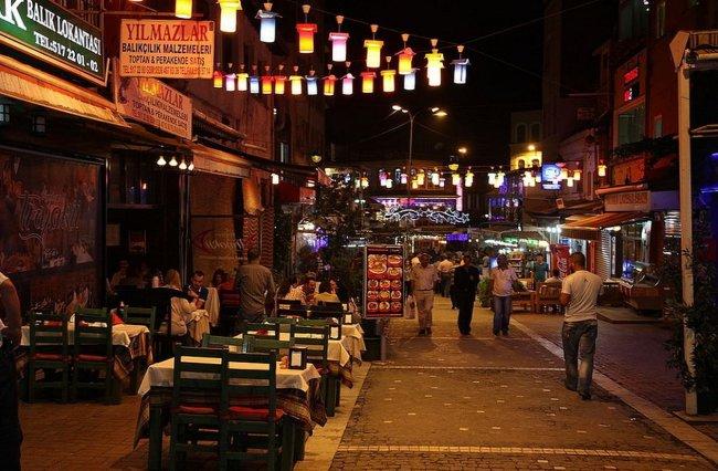 Район Кумкапы в Стамбуле