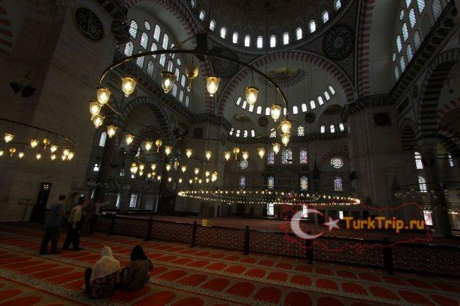 Мечеть Сулеймание фото внутри