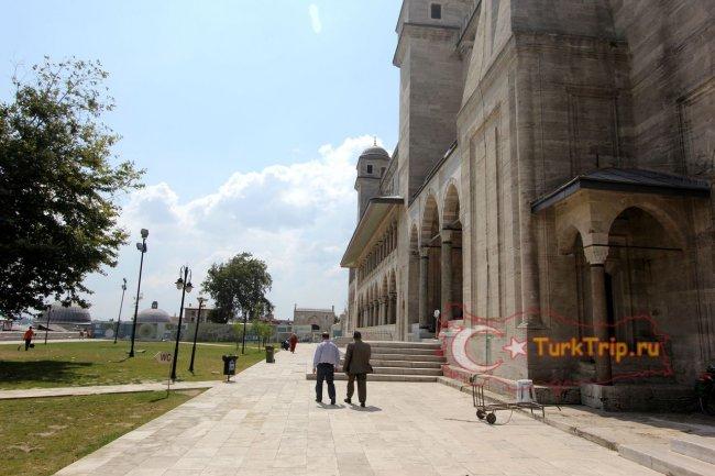 Мечеть Сулеймание в Стамбуле фото