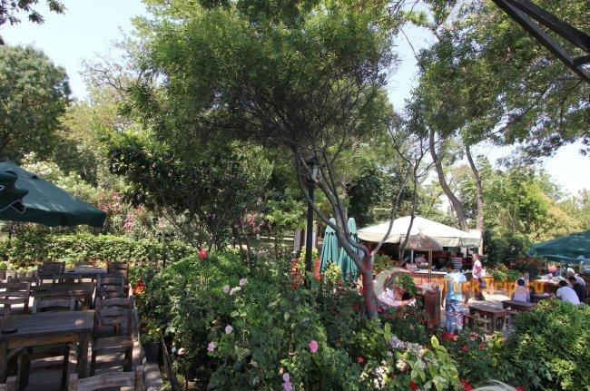 Кафе в парке Гюльхане