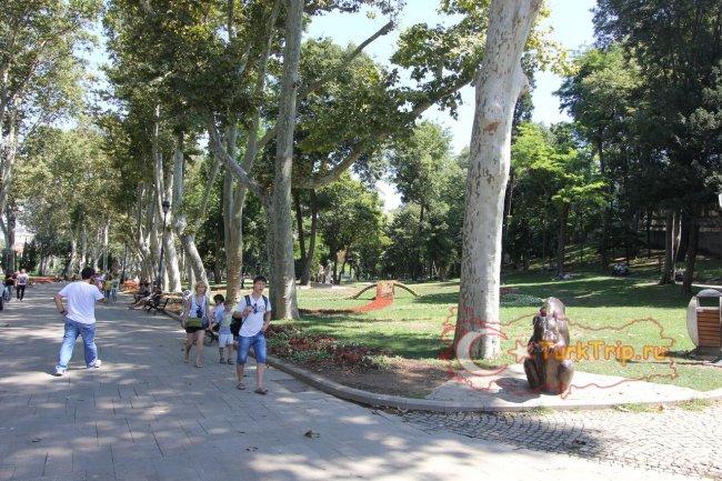 Гюльхане парк в Стамбуле