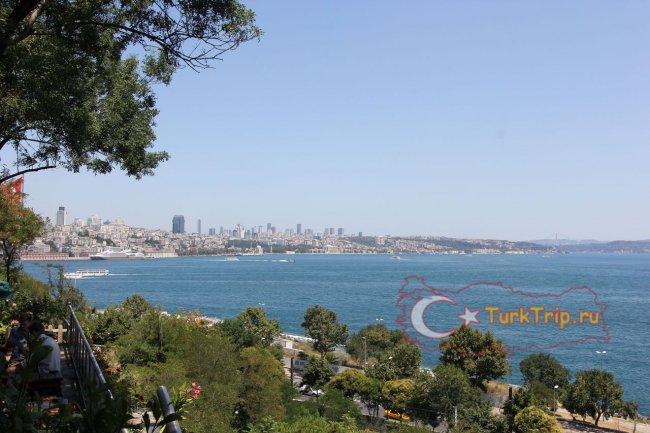 Вид из Гюльхане парка