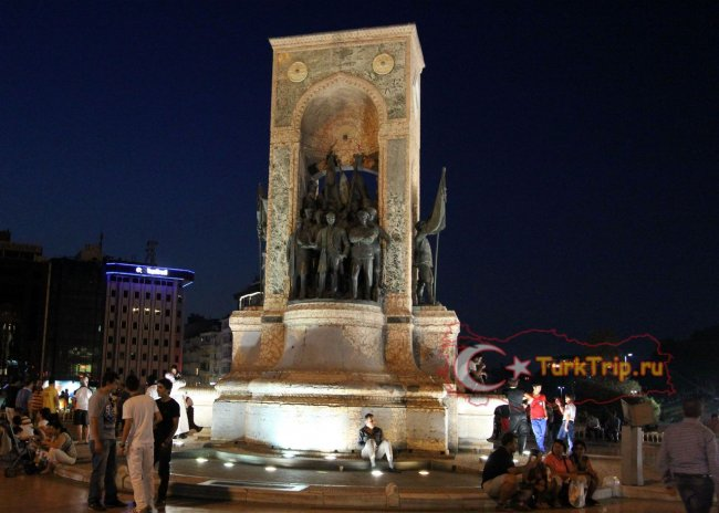 Памятник Независимости на площади Таксим