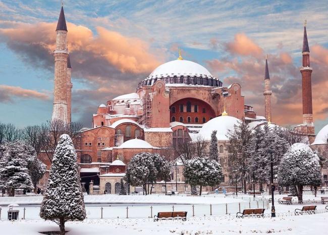 Стамбул в январе