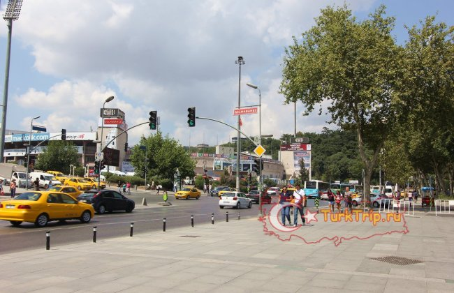 Стадион Иненю в районе Бешикташ