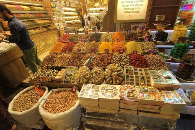 Египетский базар специй фото