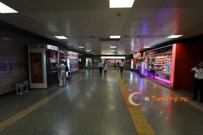 Вход в Джевахир через метро Шишли