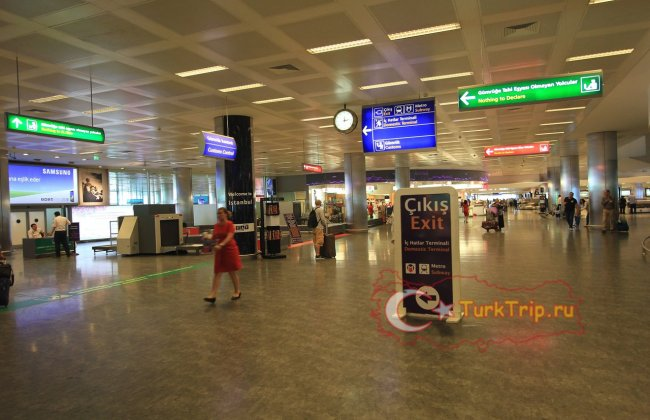 аэропорта Стамбул Ататюрк,