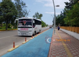 Автобус Анталия - Чамьюва
