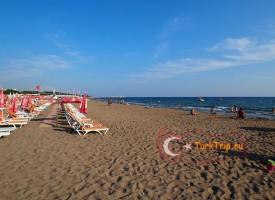 Пляжи Сиде в мае