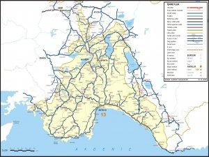 Карта дорог Анталии