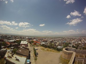 Панорама на город Эрзурум