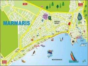 Карта города Мармарис
