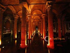 Цистерна Базилика в Стамбуле фото и описание