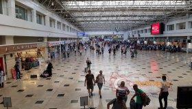Зона вылета терминала 1 аэропорта Анталия