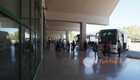 Платформа терминала междугородных рейсов