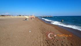 Пляжи Анталии в мае