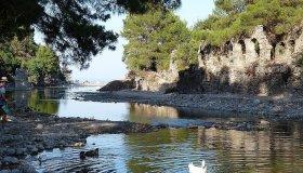 Руины Олимпоса