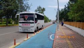 Автобус Анталия - Текирова