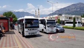 Автобус Кемер - Кириш