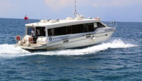 Морской автобус между Кемером и Анталией