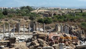 Античный город в Сиде