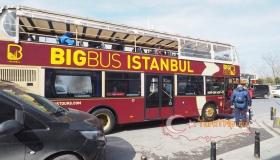 Экскурсионный автобус в Стамбуле