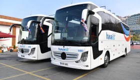 Автобусы компании Havaist